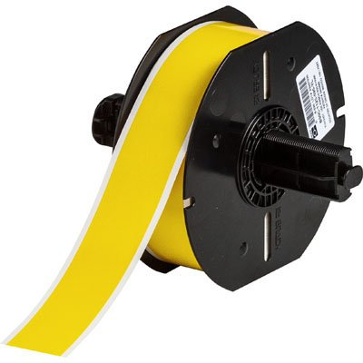 Brady B33C-1000-437YL BBP33 Label - Yellow