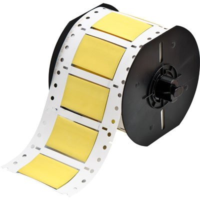 Brady B33D-750-2-342YL BBP33 Label - Yellow
