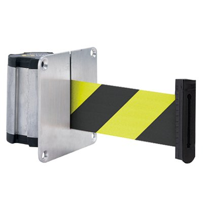 Beltrac® Concealed Mount Wall Unit - Black/Yellow Stripes 50-3012SF