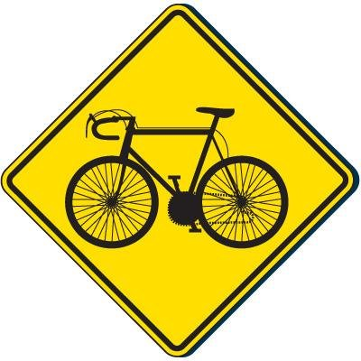 Reflective Traffic Signs - Bicycle Symbol