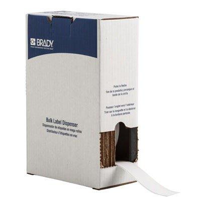 Brady BM71C-1000-854-WT BMP71 Label - White