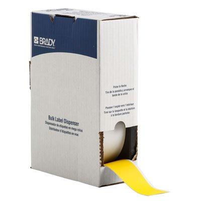 Brady BM71C-2000-854-YL BMP71 Label - Yellow