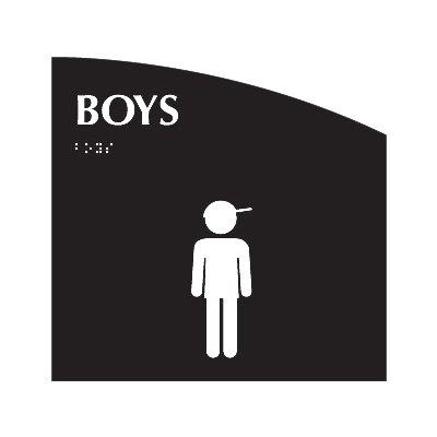 Boys - Evolution Restroom Signs