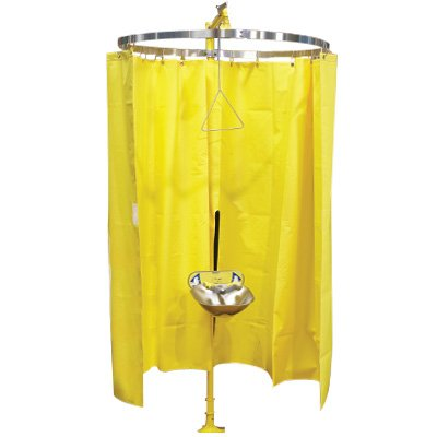 Bradley Safety Shower Eyewash Privacy Curtain S19-330