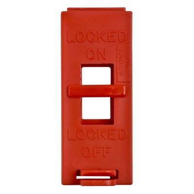 Brady 65392 Red Electrical Wall Switch Lockouts - Each