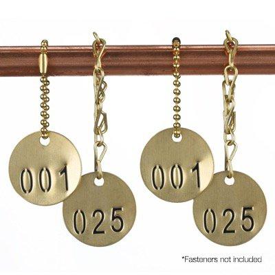 Brass Valve Tags - Duplicate Valve Tags