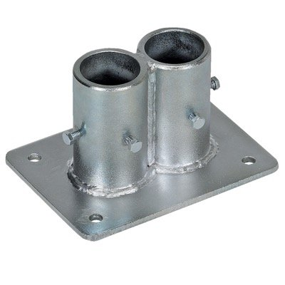 Cast Steel Double Socket - No Toeboard Access