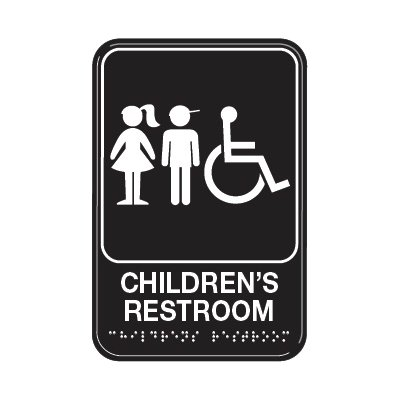 Children's Restroom Signs - Wheelchair Accessible