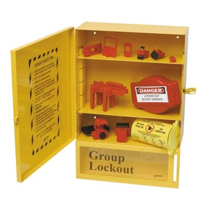 Brady Combined Lock Box Station With Components