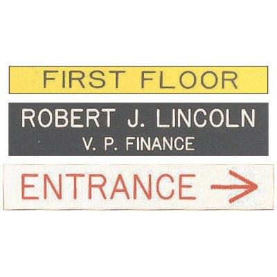 Custom Pre-Cut Engraved Signs
