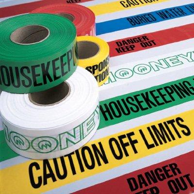 Custom Worded Barricade Tape