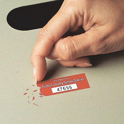 Destructible Vinyl Identification Tags