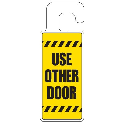 Door Knob Hangers - Use Other Door