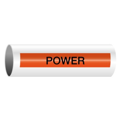 Power - Self-Adhesive Electrical Markers