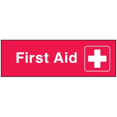 Emergency Corridor Signs - First Aid