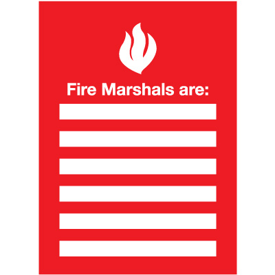 Fire Marshals Emergency Frame