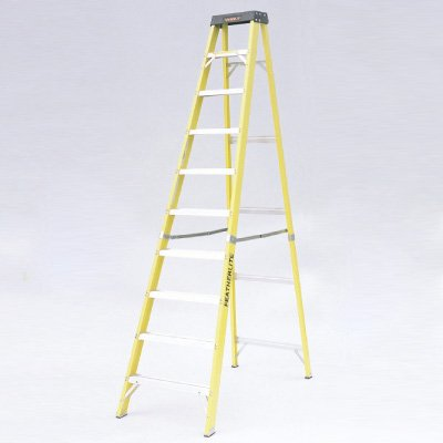 Extra Heavy-Duty Fiberglass Step Ladders