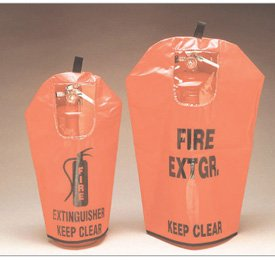 Brooks FEC3W Fire Extinguisher Covers - 20 to 30 lb.