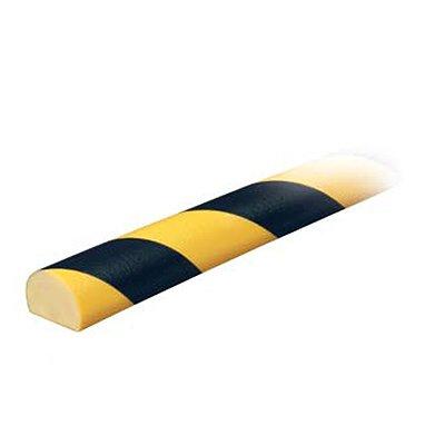 "Flat Surface Round Bumper Guard - 1-1/4""W x 1-9/16""H x 39-3/8""L"