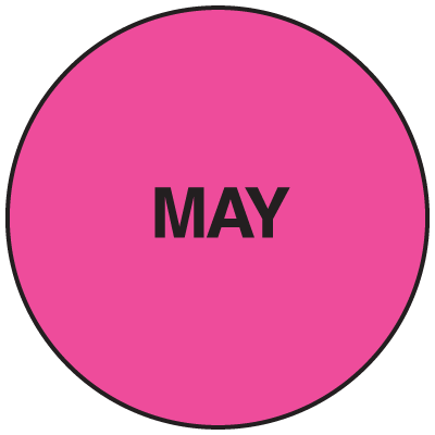 Fluorescent May Dot Labels