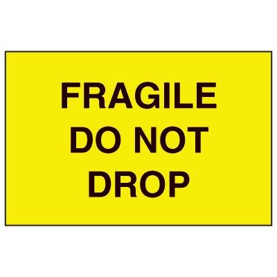 Fragile Labels - Fragile Do Not Drop