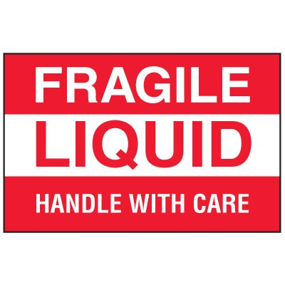 Fragile Labels - Fragile Liquid