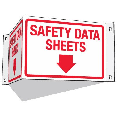 GHS SDS Information Signs - Safety Data Sheets