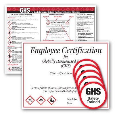 GHS Training Completion Kit