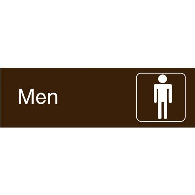 Graphic Architectural Signs - Men