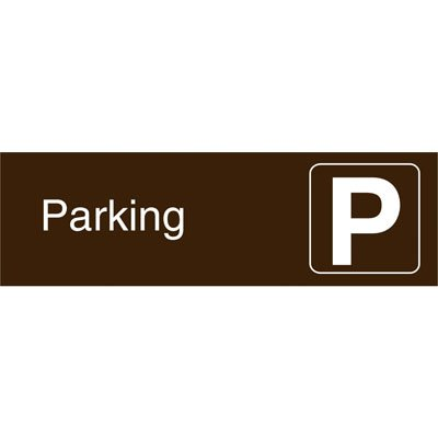 Graphic Architectural Signs - Parking