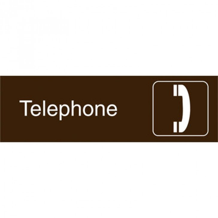 Graphic Architectural Signs - Telephone