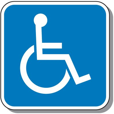 Handicap Signs - Symbol of Access