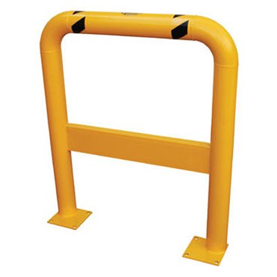 Heavy-Duty Pallet Rack Guard