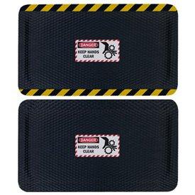 Hog Heaven Safety Message Anti-Fatigue Mats - Danger Keep Hands Clear