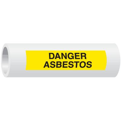 Seton Code™ Danger Asbestos Insulation Marker