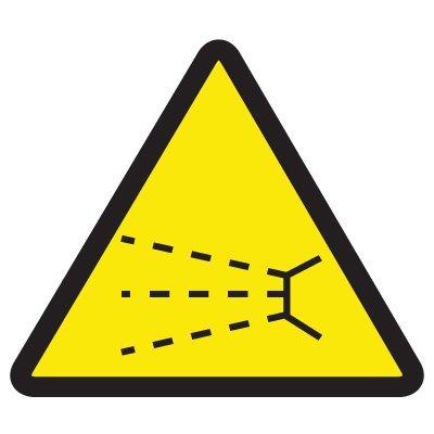 International Symbols Labels - Splash Hazard
