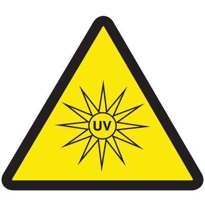 International Symbols Labels - UV Hazard