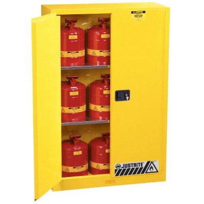 Justrite Flammable Liquid Storage Cabinets