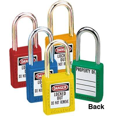 Master Lock® Keyed-Alike Message Padlock Sets
