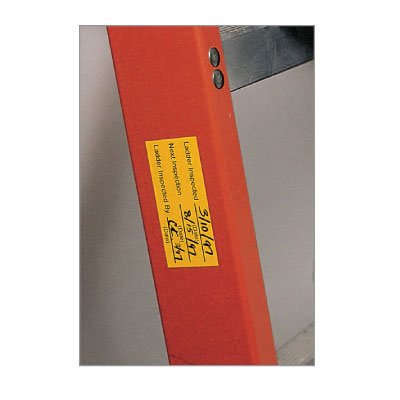 Ladder Inspection Labels