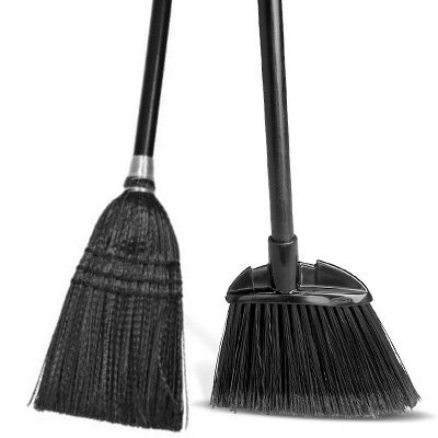 Lobby Pro™ Dust Pan Broom