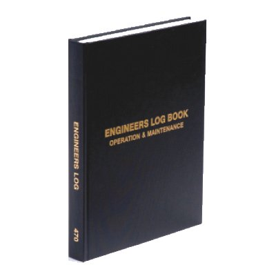 Engineers Log Book - 2 Shifts per page
