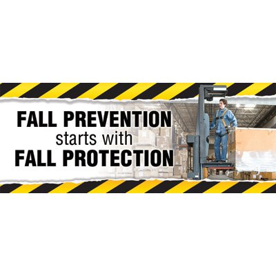 Motivational Banners - Fall Prevention