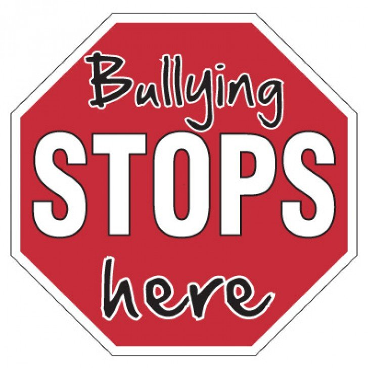 No Bullying Signs - Bullying Stops Here