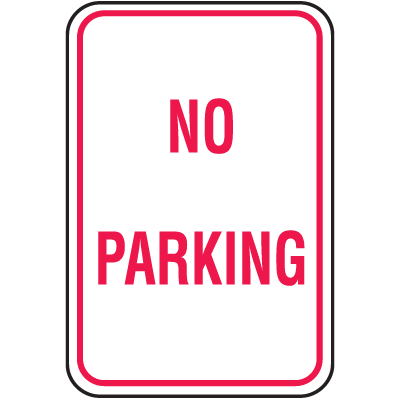 No Parking Signs - No Parking