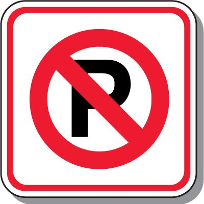 No Parking Signs - No Parking Symbol
