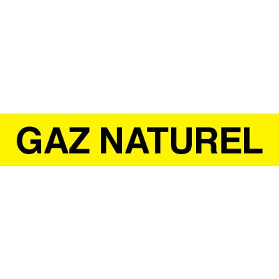 Opti-Code™ Pipe Markers - Gaz Naturel