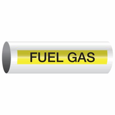 Opti-Code™ Self-Adhesive Pipe Markers - Fuel Gas