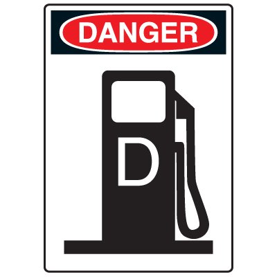 Pictogram Signs - Diesel Fuel