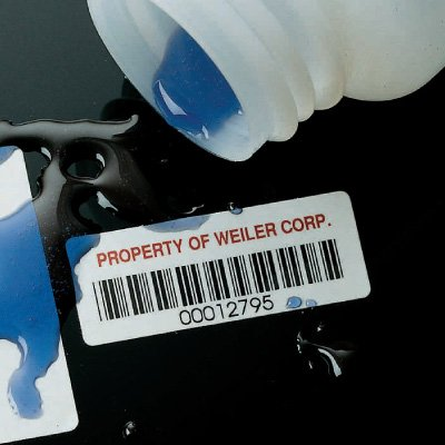 Polyester Paper Property Identification Bar Code Tags